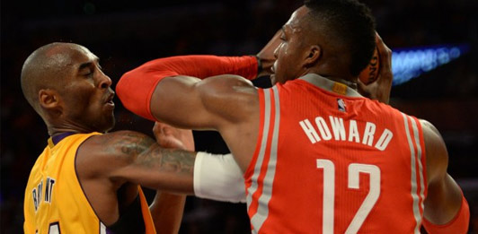 Houston Rockets 108 - LA Lakers 90